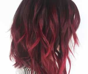 color, red, and hair image