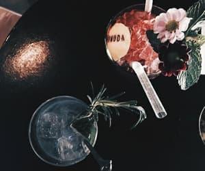 dark, drink, and theme image