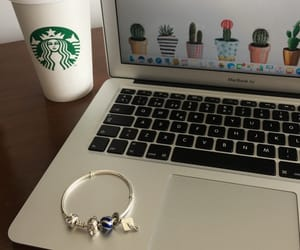 charms, coffe, and mac image