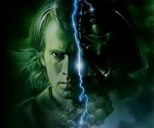 Anakin Skywalker, star wars, and dark side image