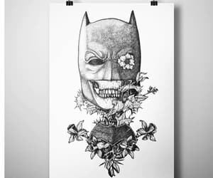 batman, black & white, and black and white image