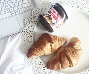 choco, croissant, and nutella image