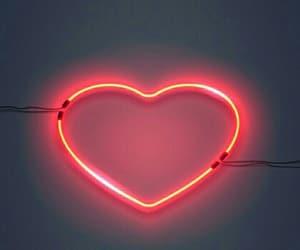 heart, mood, and neon image