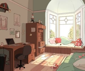 art, illustration, and interior image