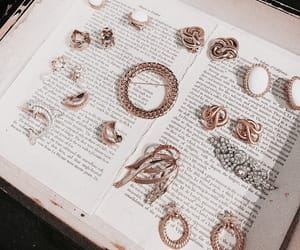 accessories, silver, and rose gold image