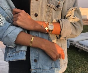 beauty, bracelets, and fashion image