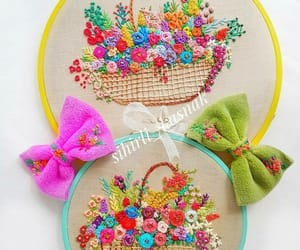 art, embroidery, and nice image