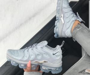 shoes, nike, and grey image