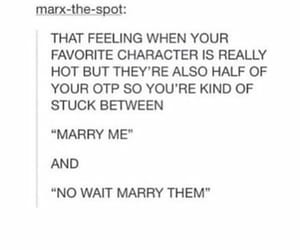 book, fandom, and otp image