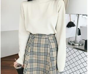 beige, kfashion, and skirt image