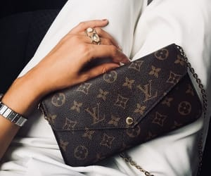bag, clutch, and LV image