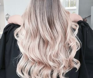 blonde, curls, and girl image