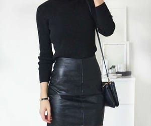 black, clothes, and inspiration image