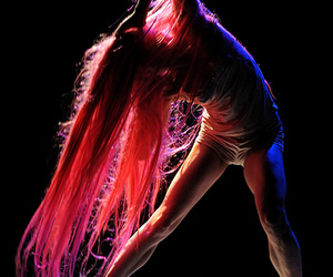 bailarina, beautiful, and colorful image