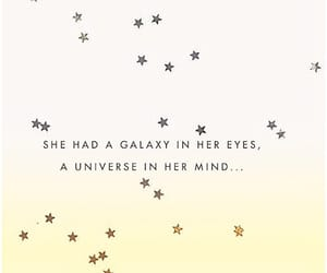 galaxy, girls, and quotes image