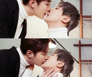 asian, boy's love, and kiss image