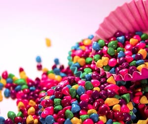 candies and rainbow image