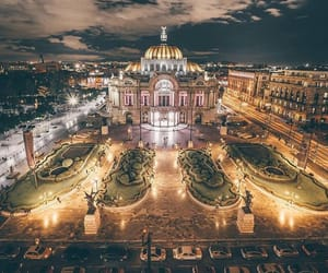 mexico, palacio, and bellas artes image