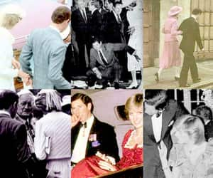 lady diana, british royal family, and prince charles image