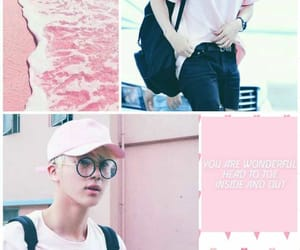 pink, bts, and lockscreen image