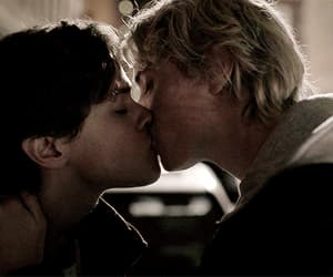 eyewitness, gif, and hot kiss image