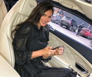 Bentley, girl, and car image