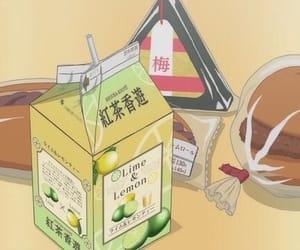 anime, food, and manga image