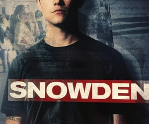 movie, snowden, and true story image