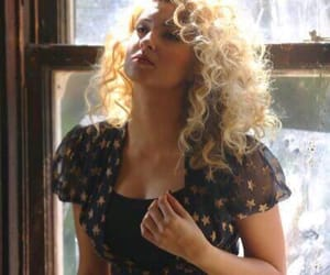 blonde curls, hollow, and pretty image