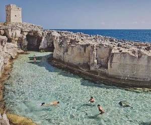 travel, beach, and italy image