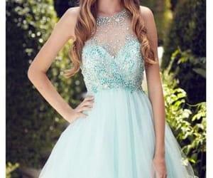 party dress, short dress, and graduation dress image