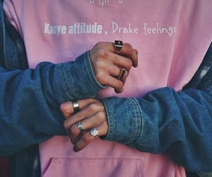 pink, Drake, and style image