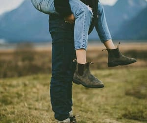 boots, couple, and cute image