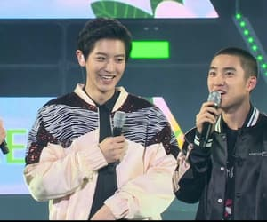 exo, park chanyeol, and doh kyungsoo image