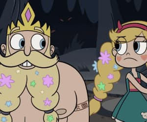gif, star butterfly, and king river image