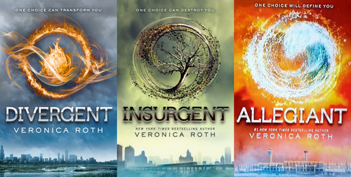 article, divergente, and book image