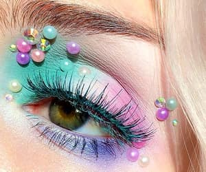 makeup, pastel, and beauty image