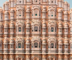 architecture, palace, and pink image