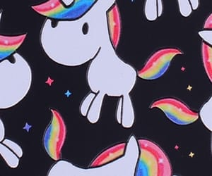 patterns, unicorns, and cute image