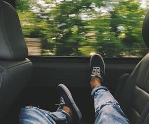 car, tumblr, and vans image