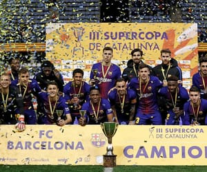 cup, trophy, and catalunya image