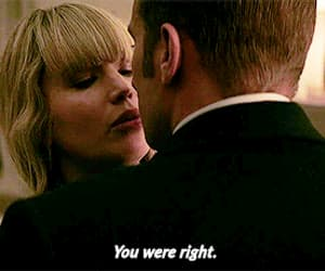 gif, Jennifer Lawrence, and red sparrow image