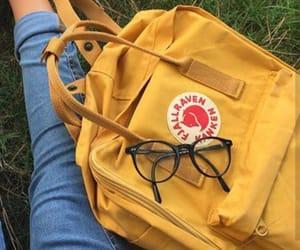 bag, style, and yellow image