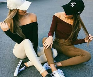 love, best friends, and style image