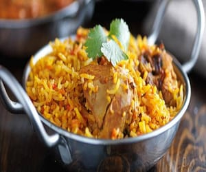 article, biryani, and food image