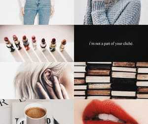 aesthetic, blonde hair, and books image