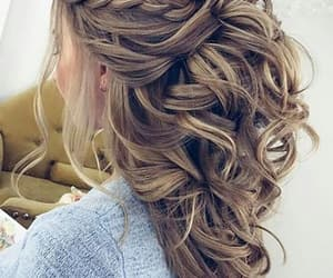 braid, guests, and hair image