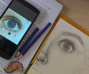 art, artistic, and blackandwhite image