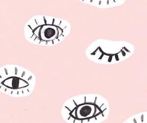eye contact, eyelashes, and inlove image