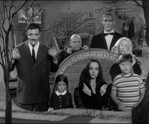 addams family, black and white, and gif image
